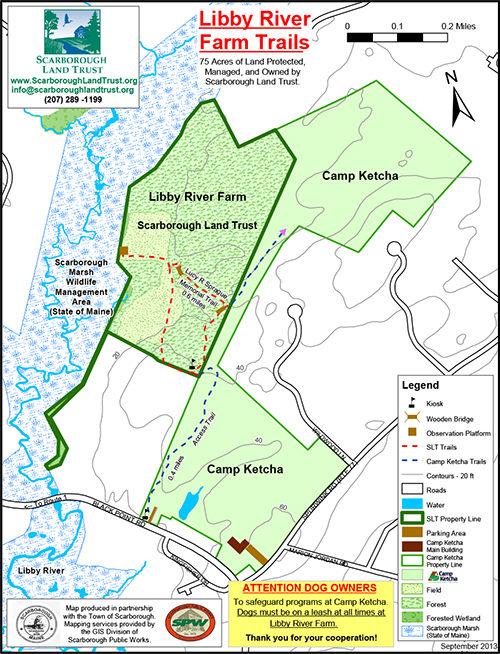 Libby River Farm Preserve Scarborough Land Trust